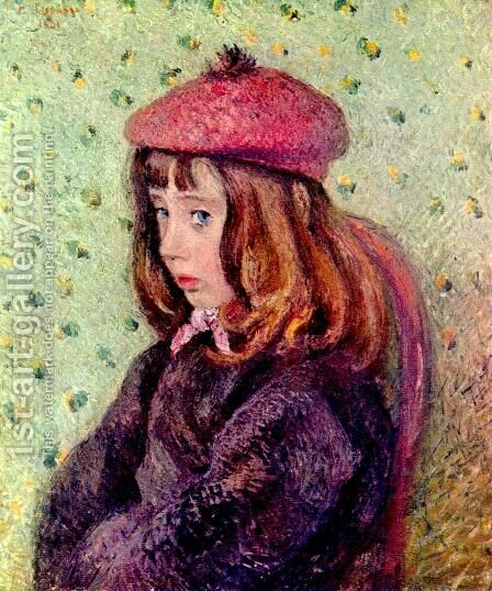 Portrait of Felix Pissarro by Camille Pissarro - Reproduction Oil Painting
