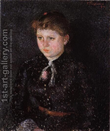 Portrait of Nini by Camille Pissarro - Reproduction Oil Painting