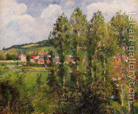 Gizors, New Section by Camille Pissarro - Reproduction Oil Painting