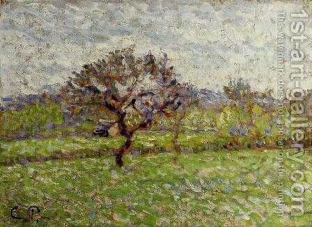 An Apple Tree at Eragny by Camille Pissarro - Reproduction Oil Painting