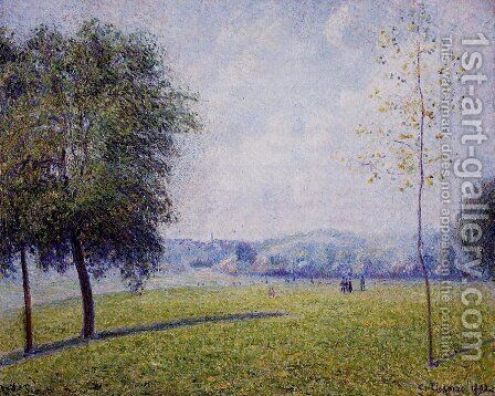 Primrose Hill, Regent's Park by Camille Pissarro - Reproduction Oil Painting