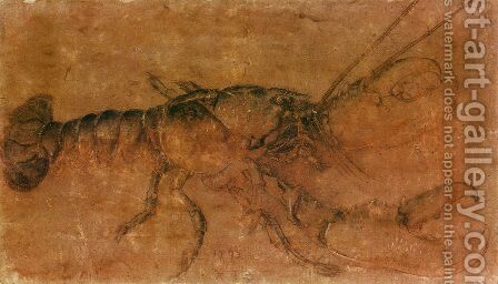 Lobster by Albrecht Durer - Reproduction Oil Painting