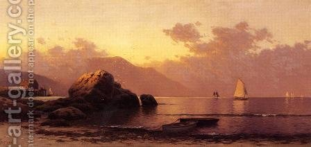 Misty Day, Grand Manan by Alfred Thompson Bricher - Reproduction Oil Painting