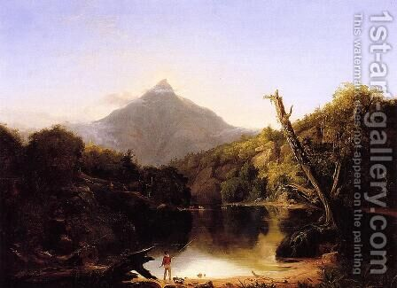 Mount Chocorua, New Hampshire by Asher Brown Durand - Reproduction Oil Painting