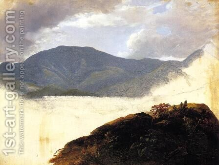 Hudson River Sketch by Asher Brown Durand - Reproduction Oil Painting