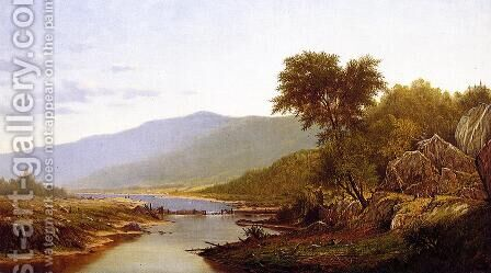 In the White Mountains by Charles Wilson Knapp - Reproduction Oil Painting