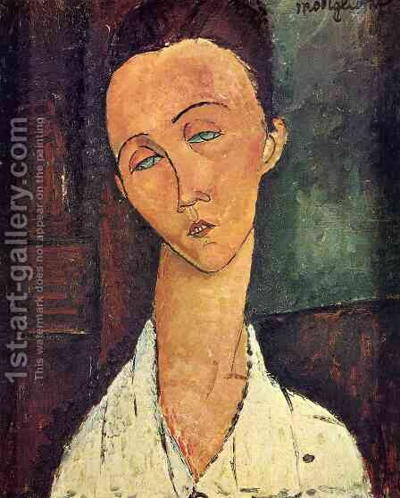 Lunia Czechowska II by Amedeo Modigliani - Reproduction Oil Painting