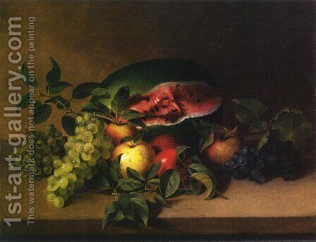 Still Life with Fruit I by James Peale - Reproduction Oil Painting