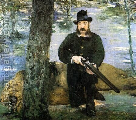 Portrait of M. Pertuiset, the Lion Hunter by Edouard Manet - Reproduction Oil Painting