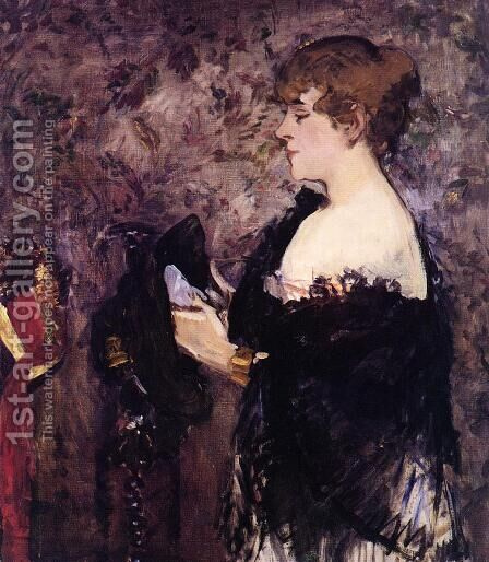The Milliner by Edouard Manet - Reproduction Oil Painting