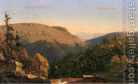 Twilight Park by Sanford Robinson Gifford - Reproduction Oil Painting
