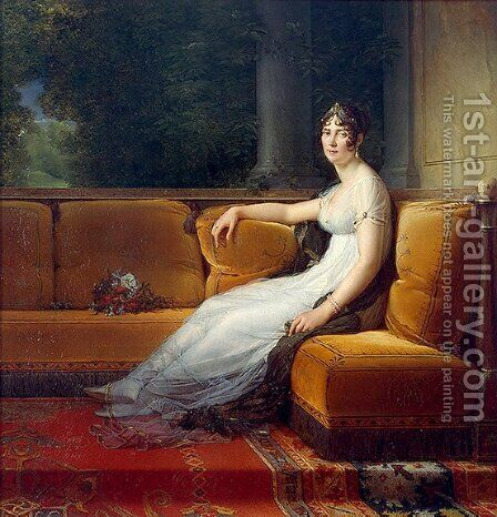 Portrait of Josephine by Baron Francois Gerard - Reproduction Oil Painting