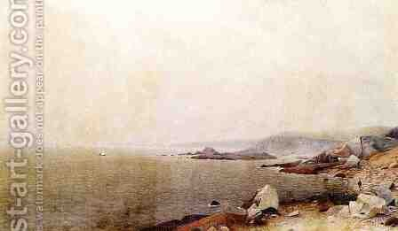 Coastal View by James Augustus Suydam - Reproduction Oil Painting