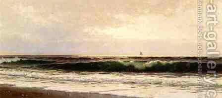 Morning, Salisbury Beach by Alfred Thompson Bricher - Reproduction Oil Painting