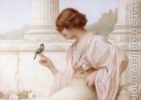 The Captive's Return by Henry Ryland - Reproduction Oil Painting