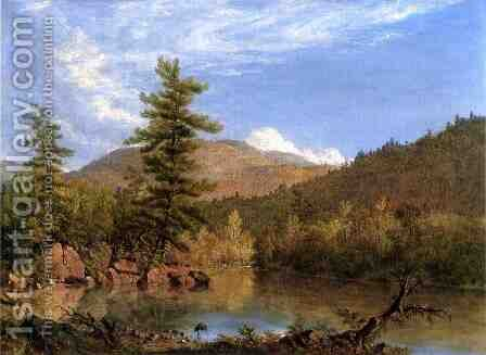 Solitude by Sanford Robinson Gifford - Reproduction Oil Painting