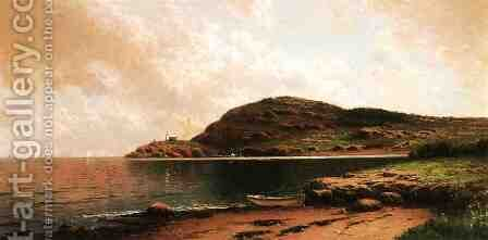 Beached Rowboat by Alfred Thompson Bricher - Reproduction Oil Painting