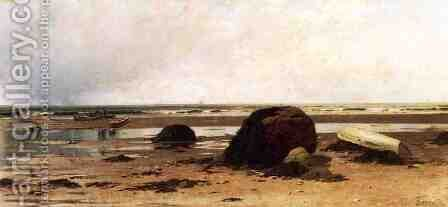 Low Tide I by Alfred Thompson Bricher - Reproduction Oil Painting