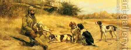 At the Rendezvous by Edmund Henry Osthaus - Reproduction Oil Painting
