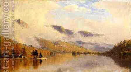 Clearing Storm over Lake George by Sanford Robinson Gifford - Reproduction Oil Painting