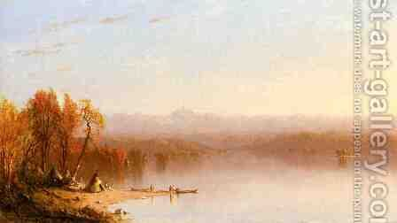 Indian Summer by Sanford Robinson Gifford - Reproduction Oil Painting