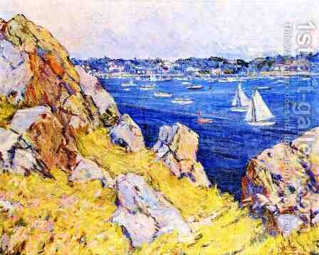 Marblehead Harbor by Mary Bradish Titcomb - Reproduction Oil Painting