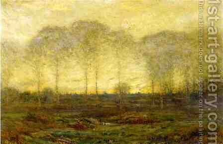 Dawn - May by Dwight William Tryon - Reproduction Oil Painting