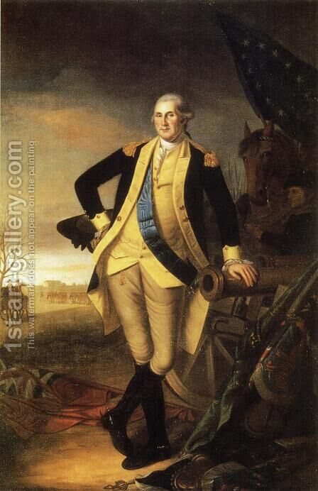 Washington After the Battle of Princeton, New Jersey by Charles Willson Peale - Reproduction Oil Painting