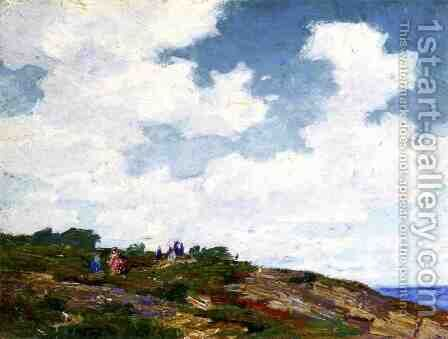 A Summer Day by Edward Henry Potthast - Reproduction Oil Painting