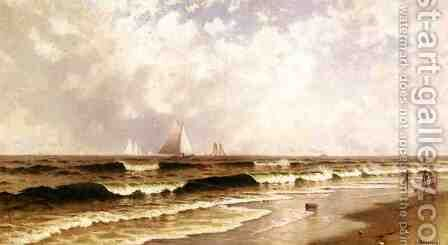 Afternoon, Southampton Beach by Alfred Thompson Bricher - Reproduction Oil Painting