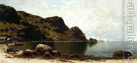 The Cliffs, Grand Manan by Alfred Thompson Bricher - Reproduction Oil Painting