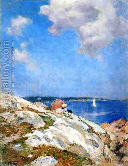 Cape Ann Coast by Edward Henry Potthast - Reproduction Oil Painting
