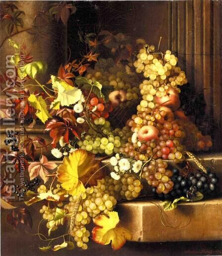 Still Life by Adelheid Dietrich - Reproduction Oil Painting