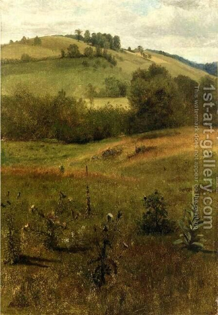 Green Mountains, Vermont by Albert Bierstadt - Reproduction Oil Painting
