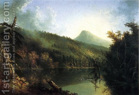 South Lake by Jacob Caleb Ward - Reproduction Oil Painting