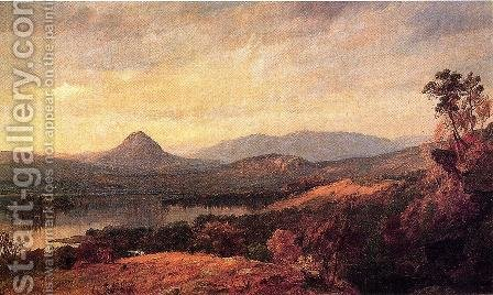 Adam and Eve Mountains by Jasper Francis Cropsey - Reproduction Oil Painting