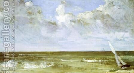The Sea by James Abbott McNeill Whistler - Reproduction Oil Painting