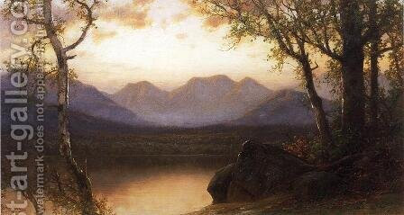 Lake in the Mountains by James David Smillie - Reproduction Oil Painting
