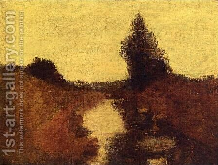 Landscape by Albert Pinkham Ryder - Reproduction Oil Painting