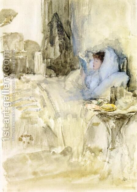 Convalescent by James Abbott McNeill Whistler - Reproduction Oil Painting