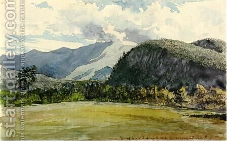 Humphreys Ledge by Charles DeWolf Brownell - Reproduction Oil Painting