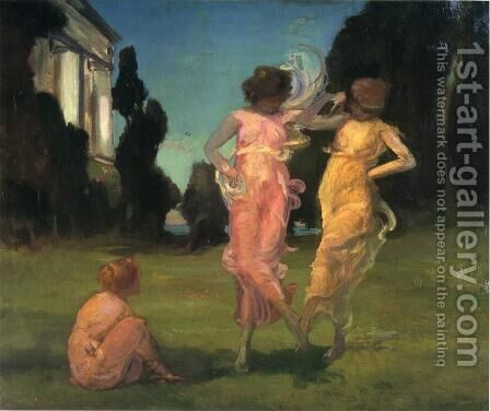 May Dance by Charles Walter Stetson - Reproduction Oil Painting