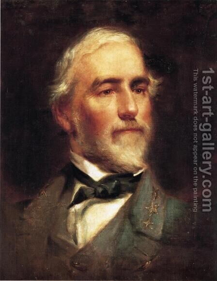 Robert E. Lee by Edward Caledon Bruce - Reproduction Oil Painting