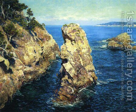 Point Lobos by Guy Rose - Reproduction Oil Painting