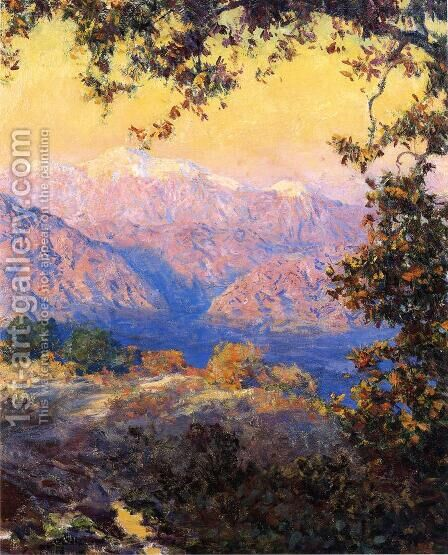 Sunset Glow by Guy Rose - Reproduction Oil Painting
