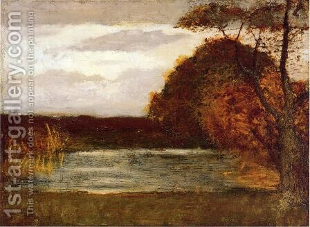 The Pond by Albert Pinkham Ryder - Reproduction Oil Painting