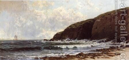 Coastal Scene I by Alfred Thompson Bricher - Reproduction Oil Painting