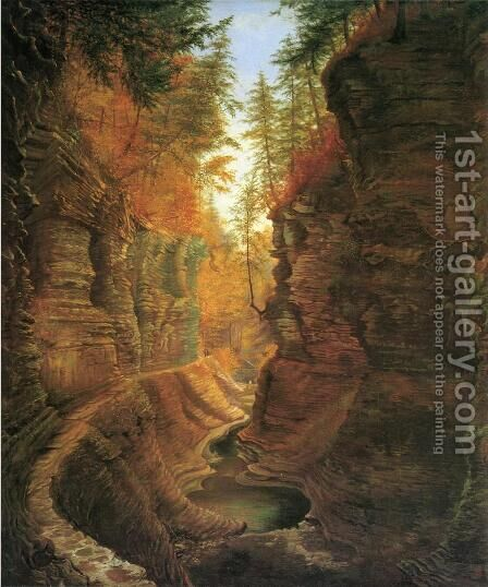 Watkins Glen by James Hope - Reproduction Oil Painting