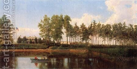Charles River Maryland by Hugh Bolton Jones - Reproduction Oil Painting