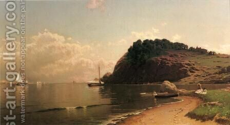 Coastal Scene II by Alfred Thompson Bricher - Reproduction Oil Painting
